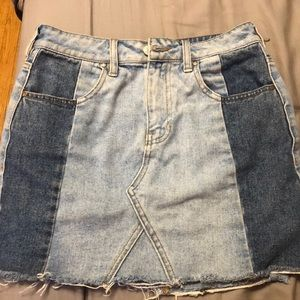 Pacsun jean skirt- size 27 or 4